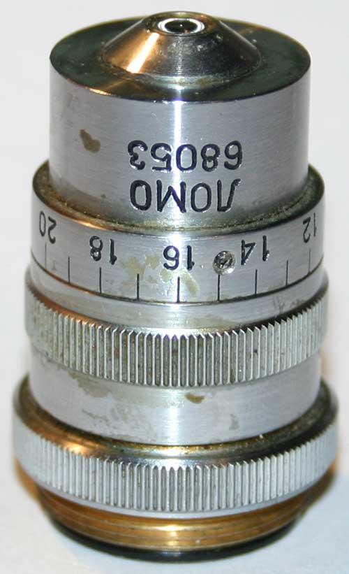 Исходный вид объектива ЛОМО АПО 40х0.95