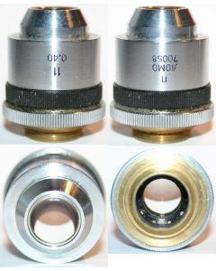 LOMO Microscope Objective - Achromat 11x0.40 (Polarized)