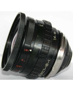 Fast Ekran 18mm lens 35OKS7-18-1 (f/1.4, T/1.6)