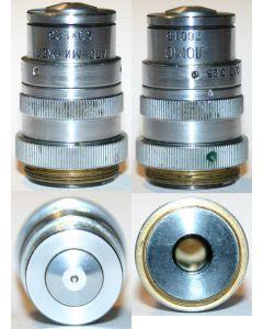 LOMO Microscope Objective - APO 60x1.25, OI, Gelatine