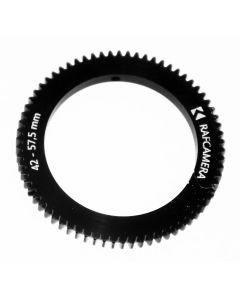 Follow Focus gear for Ricoh TV c-mount lens (42-57.5-5mm)