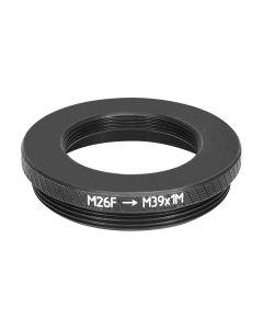 M26x0.7 36tpi to M39x1 (LTM) thread adapter