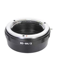 Minolta MD lens to MFT camera mount adapter