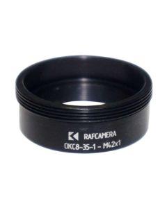 M42x1 thread adapter for LOMO OKS8-35-1 lens optical block