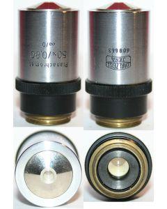 Zeiss Microscope Objective - Planachromat 50x0.80